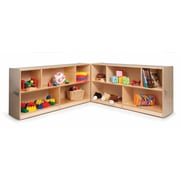 Whitney Brothers Tall Fold and Roll Storage Cabinet, 30(H)
