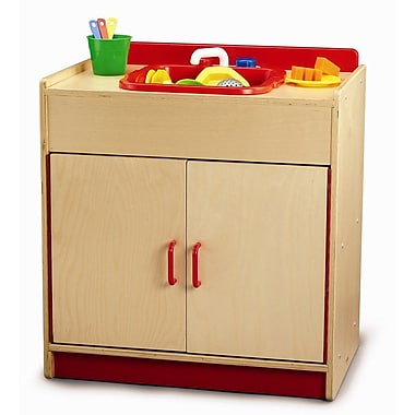 Whitney Brothers Preschool Play Sink Cabinet, Natural
