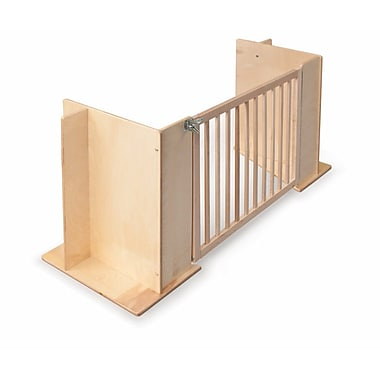Whitney Brothers Room Divider Gate, Natural