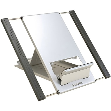 GoldTouch™ GTLS-0055 Travel Notebook and iPad Stand, Graphite