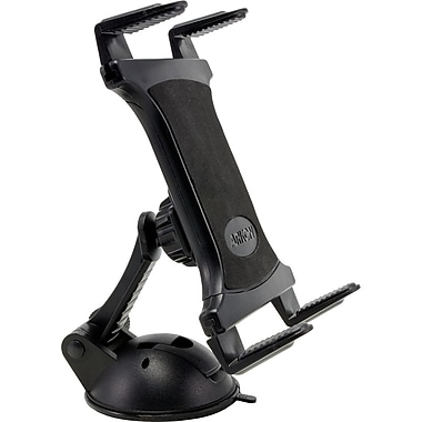 Arkon Removable No Residue Sticky Flat Surface Universal Tablet Mount, Black