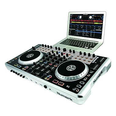 Alesis N4 DJ Controller with Mixer, 4-Channel