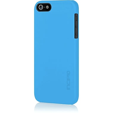 Incipio® Feather Ultra Thin Snap-On Case For iPhone 5, Cyan Blue