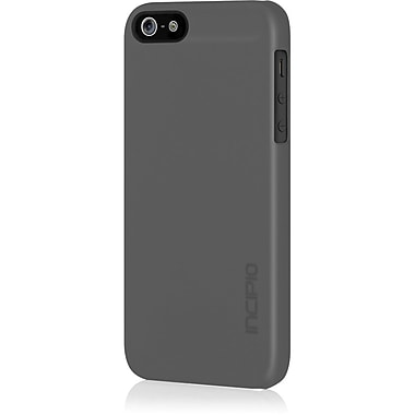 Incipio® Feather Ultra Thin Snap-On Case For iPhone 5, Charcoal Gray