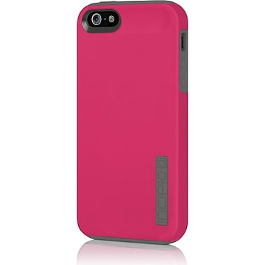 Incipio® Hard Shell Case for Apple iPhone 5, Cherry Blossom Pink/Charcoal Gray