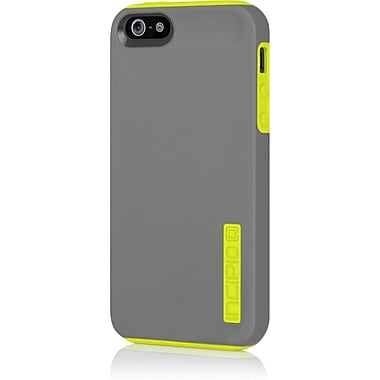 Incipio® Hard Shell Case for Apple iPhone 5, Charcoal Gray/Citron Yellow