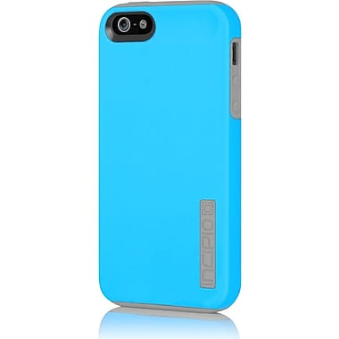 Incipio® Hard Shell Case for Apple iPhone 5, Cyan Blue/Haze Gray