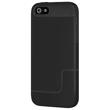 Incipio® Edge Pro Co-Molded Hard-Shell Slider Case For iPhone 5, Obsidian Black