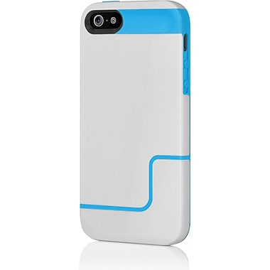 Incipio® Co-Molded Hard Shell Slider Case for Apple iPhone 5, Blue/Gray