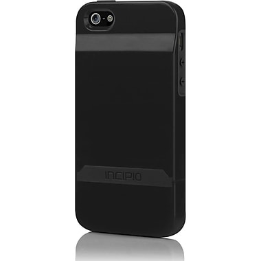 Incipio® Stashback Credit Card Hard Shell Case for Apple iPhone 5, Black