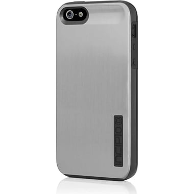 Incipio® Shine Hard Shell Case for Apple iPhone 5, Silver/Obsidian Black
