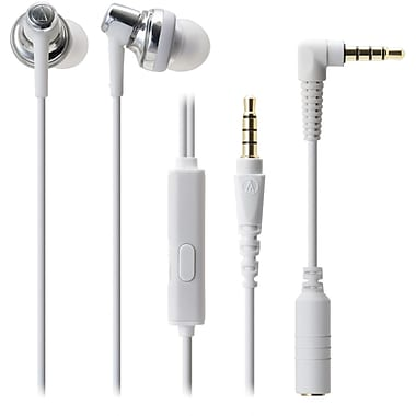 Audio-Technica ATH-CKM500IS High Quality In-Ear Headphone, White