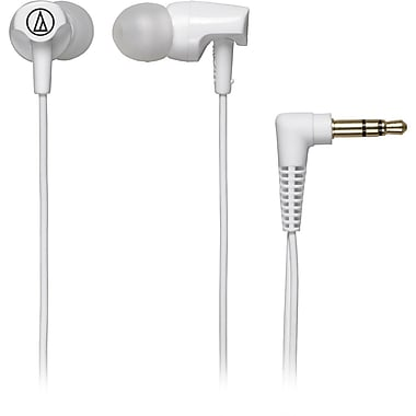 Audio-Technica ATH-CLR100 Excellent In-Ear Headphone, White