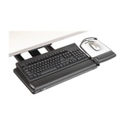 3M™ Sit/Stand Easy Adjust Keyboard Tray, Black