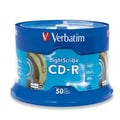 Verbatim® 700MB LightScribe CD-R, Spindle, 50/Pack