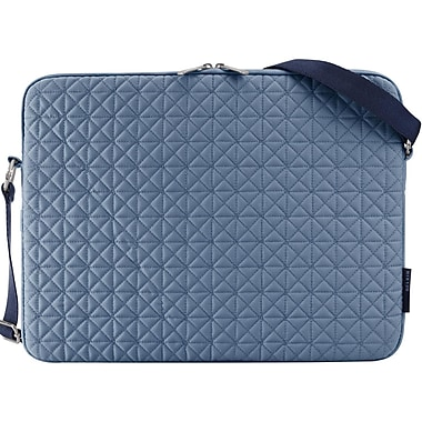 Belkin® Quilted 15.4inch Carrying Case For Notebook, Denim