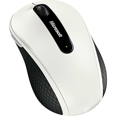 Microsoft D5D-00008 Wireless Mobile Mouse 4000, White
