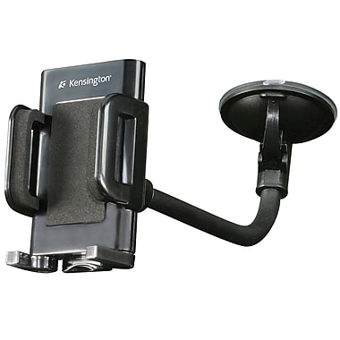 Kensington® Windshield Vent Car Mount For Smartphone, Black