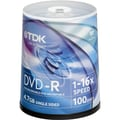 Imation TDK® 4.7GB DVD+R, Spindle, 200/Pack