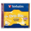 Verbatim® 4.70GB DVD+RW, Jewel Case