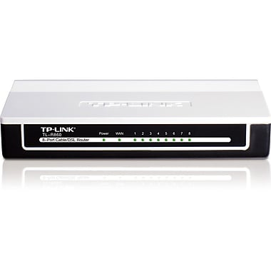 TP-LINK® 8-Port Cable/DSL Router (TL-R860)