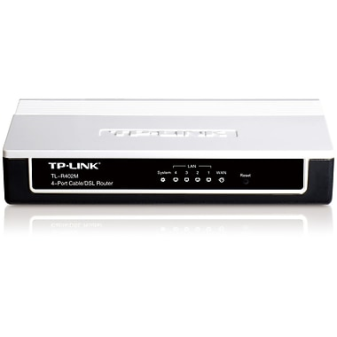 TP-LINK® 4-Port Cable/DSL Router (TL-R402M)