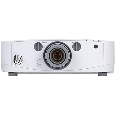 NEC® NP-PA500U-13ZL 5000 Lumens Advanced Professional Installation LCD Projector With Lens, WUXGA