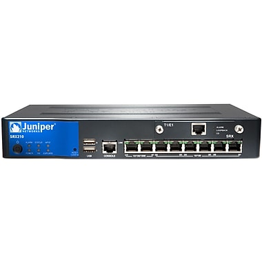 Juniper® SRX210 Series Services Gateway With High Energy Enhanced