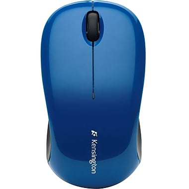 Kensington® K72412US Optical Mouse, Blue