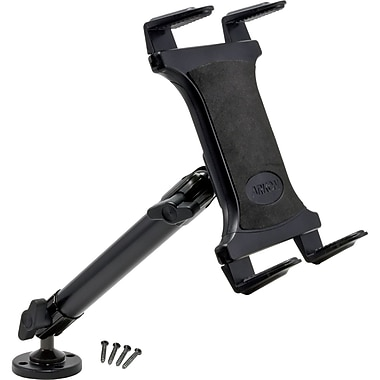 Arkon Heavy-Duty Universal Tablet Mount with 10in. Drill / Screw Base, Black