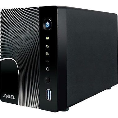 Zyxel 2-Bay Power Plus Media Server