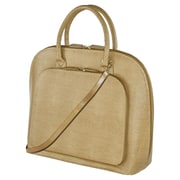 Fabrique Francine Collection Park Avenue 14inch Carrying Case For Notebook, Tan