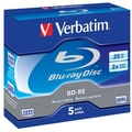 Verbatim® 2x GB Blu-ray Rewritable Media