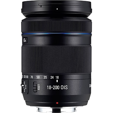 Samsung EX-L18200MB/US 18mm f/3.5 - 6.3 Long Zoom Lens For Samsung NX Series Digital SLR Camera
