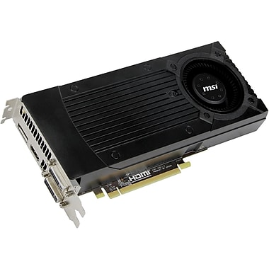 msi™ GeForce GTX 670 2GB Plug-in Card Graphic Card, 965 MHz