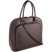 Fabrique Francine Collection Park Avenue 14inch Carrying Case For Notebook, Brown