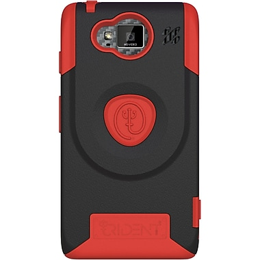 Tridentcase™ Aegis Case For Motorola DROID RAZR HD/DROID Fighter/DROID Vanquish/XT926, Red