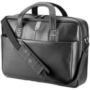 HP® 17.3inch Leather Carrying Case For Notebook, Black