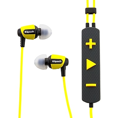 Klipsch™ 1014995 S4I Rugged In-Ear Headphone, Yellow