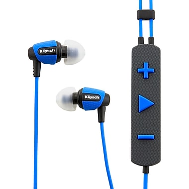 Klipsch™ 1014915 S4I Rugged In-Ear Headphone, Blue