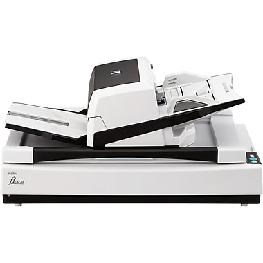 Fujistu Fi-6770 Duplex Document Flatbed Color Scanner, 600 dpi