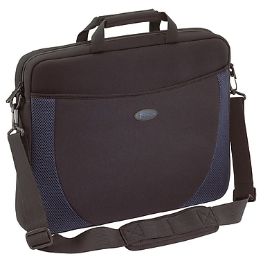 Targus® Neoprene 17inch Notebook Slip Case, Black/Blue