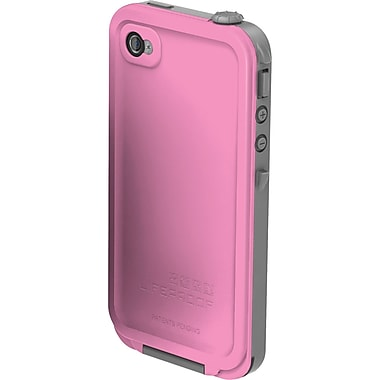 LifeProof® iPhone Case for Apple iPhone 4S/4, Pink/Gray