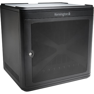Kensington® Tablet Computer Cabinet, Charcoal