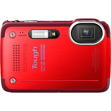 Olympus TG-630 iHS 12 Mega Pixels Digital Camera, Red