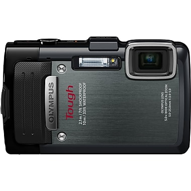 Olympus TG-830 iHS 16 Mega Pixels Digital Camera, Black