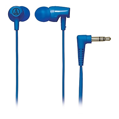 Audio-Technica ATH-CLR100 Excellent In-Ear Headphone, Blue