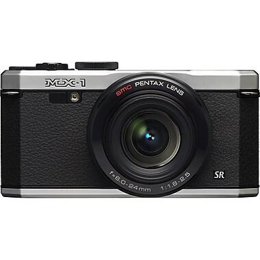 Pentax 12633 MX-1 12 Mega Pixels Compact Camera, Silver