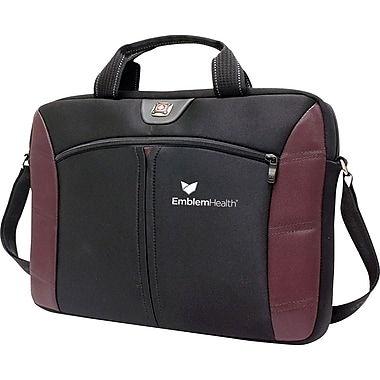TRG Wenger® SHERPA 15.4inch Carrying Case For Notebook, Black/Blue