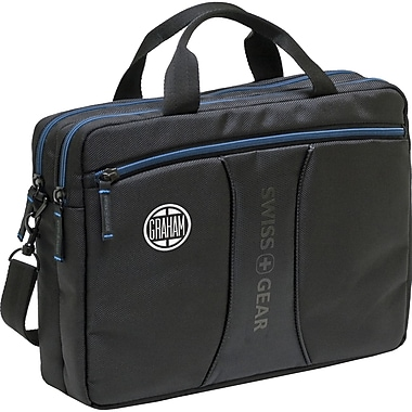 TRG Wenger® JETT 10.2inch Carrying Case For Netbook, Black/Blue
